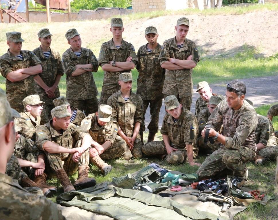Ми на тренінгу з морськими піхотинцями