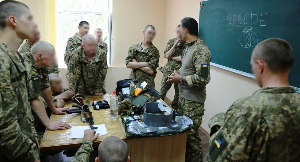 Наша продукція на заняттях у моряків