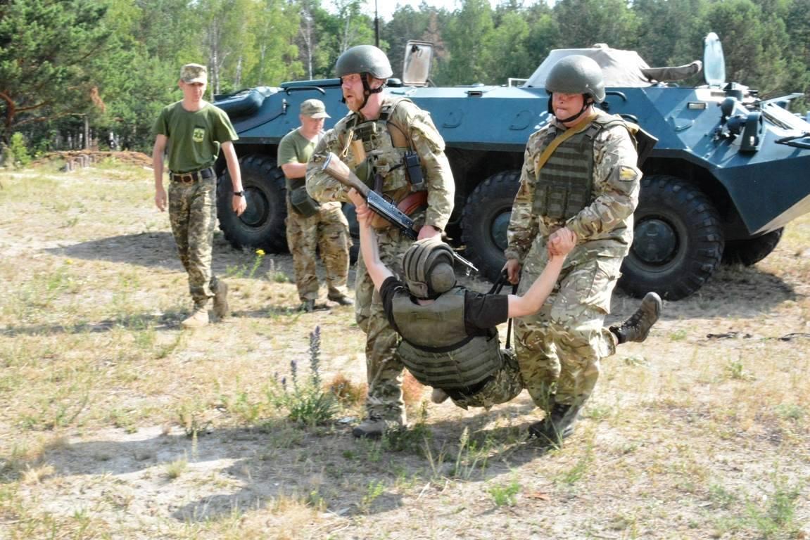 Продукція АВ-ФАРМА використовується військовими для навчань тактичній медицині