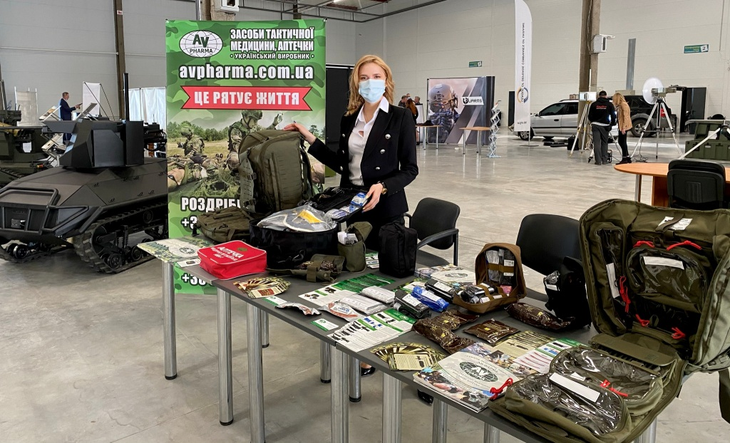 АВ-ФАРМА на виставці Ліги оборонних підприємств