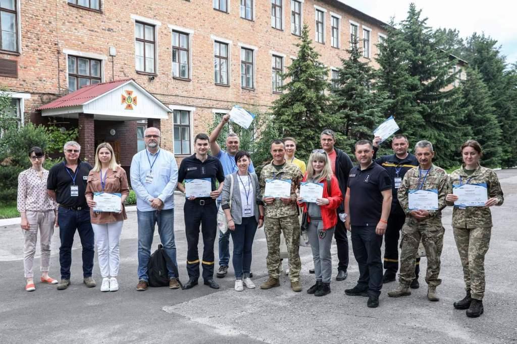Аптечки АВ-ФАРМА на тренінгах з мінної безпеки